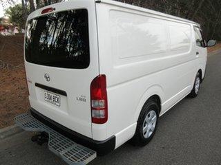 2013 Toyota HiAce KDH201R MY12 LWB White 5 Speed Manual Van.