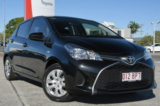 2016 Toyota Yaris NCP130R Ascent Ink 4 Speed Automatic Hatchback.
