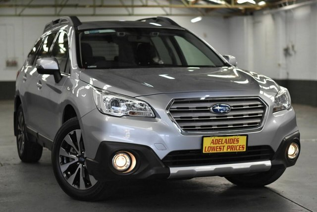 Used Subaru Outback B6A MY16 2.5i CVT AWD Morphett Vale, 2016 Subaru Outback B6A MY16 2.5i CVT AWD Silver 6 Speed Constant Variable Wagon