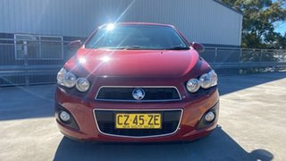 2012 Holden Barina TM MY13 CDX Burgundy 6 Speed Automatic Hatchback.