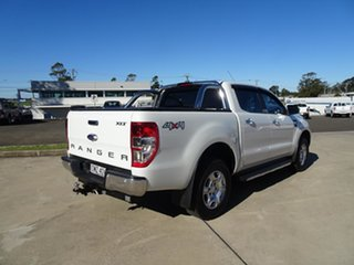 2016 Ford Ranger PX MkII XLT Double Cab Cool White 6 Speed Automatic Utility