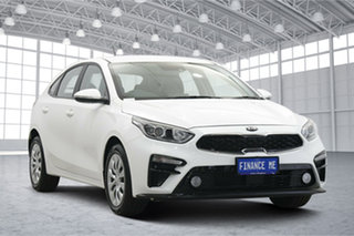 2020 Kia Cerato BD MY20 S Clear White 6 Speed Sports Automatic Hatchback.