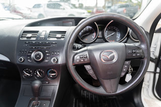 2013 Mazda 3 BL10F2 MY13 Neo Activematic Crystal White Pearl 5 Speed Sports Automatic Sedan
