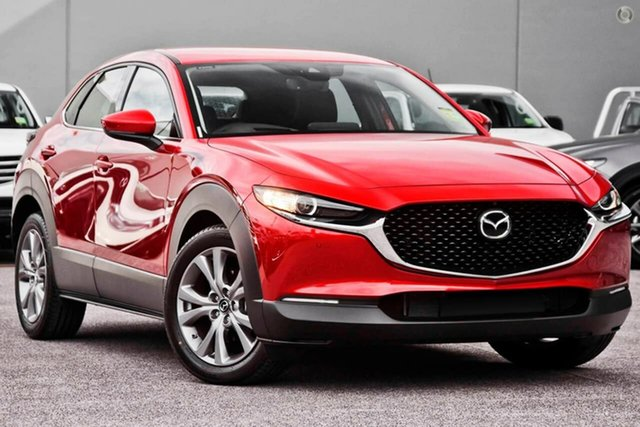 New Mazda CX-30 DM2W7A G20 SKYACTIV-Drive Touring Waitara, 2021 Mazda CX-30 DM2W7A G20 SKYACTIV-Drive Touring Red 6 Speed Sports Automatic Wagon
