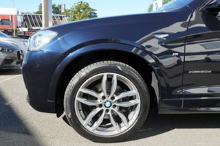 2016 BMW X3 F25 MY16 xDrive20d Carbon Black Metallic 8 Speed Automatic Wagon.