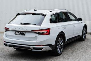 2020 Skoda Superb NP MY20.5 200TSI DSG Scout White 7 Speed Sports Automatic Dual Clutch Wagon.