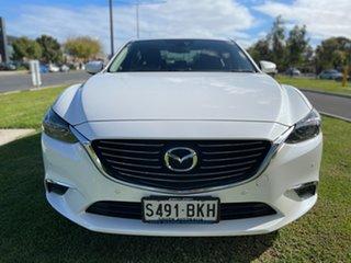 2016 Mazda 6 GL1031 Touring SKYACTIV-Drive Snowflake White 6 Speed Sports Automatic Sedan.