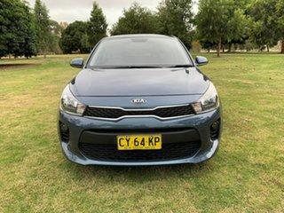2016 Kia Rio UB MY16 S Blue 4 Speed Sports Automatic Hatchback.