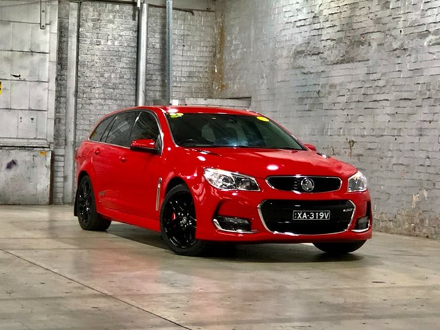 Used Holden Commodore VF II MY16 SS V Sportwagon Redline Mile End South, 2016 Holden Commodore VF II MY16 SS V Sportwagon Redline Red 6 Speed Sports Automatic Wagon