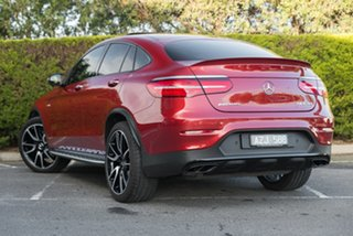 2018 Mercedes-Benz GLC-Class C253 808MY GLC43 AMG Coupe 9G-Tronic 4MATIC Hyacinth Red 9 Speed.