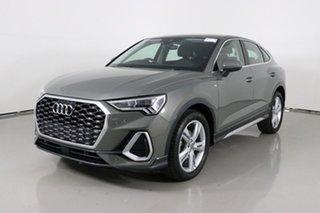 2020 Audi Q3 F3 MY21 35 TFSI S Line Chronos Grey 6 Speed Auto Steptronic Sportback.