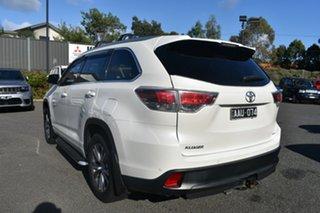 2014 Toyota Kluger GSU55R GXL AWD White 6 Speed Sports Automatic Wagon.