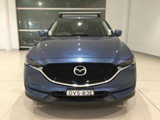 2018 Mazda CX-5 KF4WLA GT SKYACTIV-Drive i-ACTIV AWD Eternal Blue/kf 6 Speed Sports Automatic Wagon
