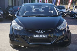2013 Hyundai Elantra MD2 Active Black 6 Speed Sports Automatic Sedan