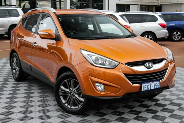 Used Hyundai ix35 LM3 MY14 Elite Attadale, 2014 Hyundai ix35 LM3 MY14 Elite Orange 6 Speed Sports Automatic Wagon