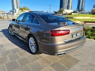 2015 Audi A6 4G MY16 S Line S Tronic Grey 7 Speed Sports Automatic Dual Clutch Sedan.