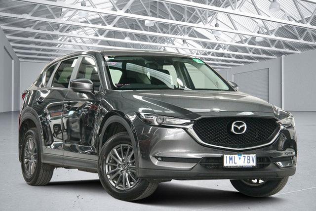 Used Mazda CX-5 MY18 (KF Series 2) Maxx Sport (4x4) Altona North, 2018 Mazda CX-5 MY18 (KF Series 2) Maxx Sport (4x4) Grey 6 Speed Automatic Wagon