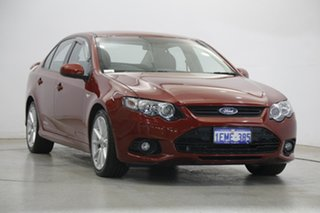 2013 Ford Falcon FG MkII XR6 EcoLPi Emperor Red 6 Speed Sports Automatic Sedan