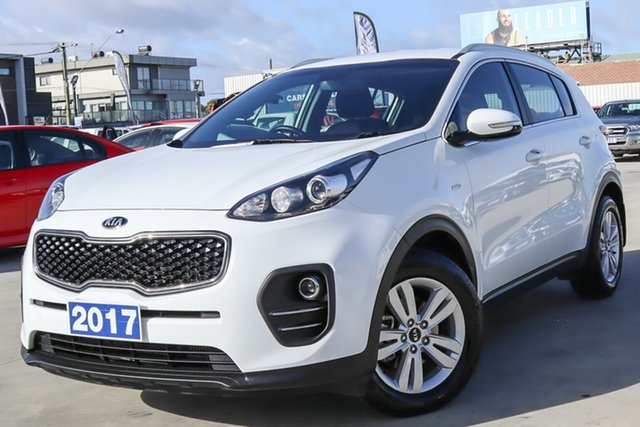 Used Kia Sportage QL MY17 Si AWD Coburg North, 2017 Kia Sportage QL MY17 Si AWD White 6 Speed Sports Automatic Wagon