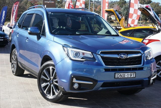 Used Subaru Forester S4 MY17 2.5i-S CVT AWD Phillip, 2017 Subaru Forester S4 MY17 2.5i-S CVT AWD Blue 6 Speed Constant Variable Wagon
