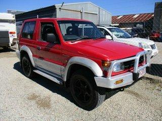 1994 Mitsubishi Pajero NJ GLS Red 4 Speed Automatic Hardtop.