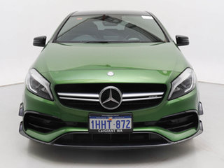 2017 Mercedes-AMG A45 176 MY18 4Matic Green 7 Speed Auto Dual Clutch Hatchback.