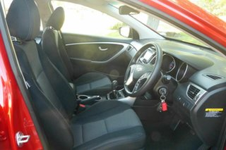 2012 Hyundai i30 GD Active Red 6 Speed Manual Hatchback