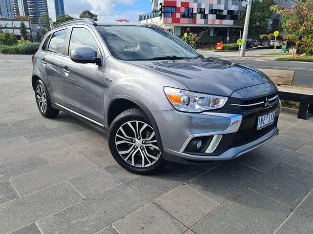 Used Mitsubishi ASX XC MY18 LS 2WD South Melbourne, 2018 Mitsubishi ASX XC MY18 LS 2WD Grey 1 Speed Constant Variable Wagon