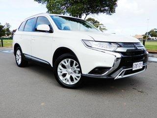2020 Mitsubishi Outlander ZL MY20 ES 2WD ADAS White 6 Speed Constant Variable Wagon.