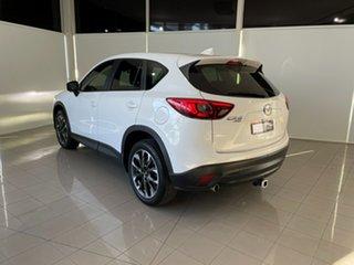 2015 Mazda CX-5 KE1022 Akera SKYACTIV-Drive AWD White 6 Speed Sports Automatic Wagon.