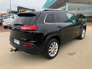 2015 Jeep Cherokee KL MY15 Limited (4x4) Black 9 Speed Automatic Wagon.
