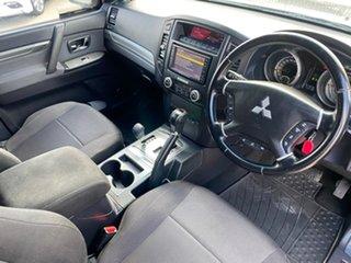 2011 Mitsubishi Pajero NT MY11 GLX Grey 5 Speed Sports Automatic Wagon