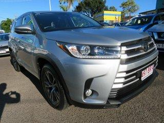 2019 Toyota Kluger GSU55R GX AWD Silver 8 Speed Sports Automatic Wagon.