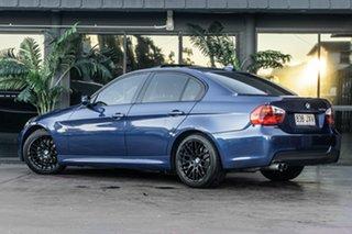 2006 BMW 3 Series E90 325i Steptronic Blue 6 Speed Sports Automatic Sedan.