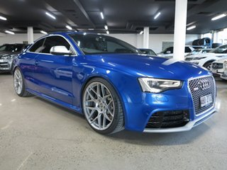 2013 Audi RS5 8T MY14 S Tronic Quattro Sepang Blue 7 Speed Sports Automatic Dual Clutch Coupe.