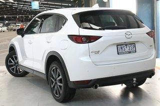 2018 Mazda CX-5 MY18 (KF Series 2) Akera (4x4) White 6 Speed Automatic Wagon.
