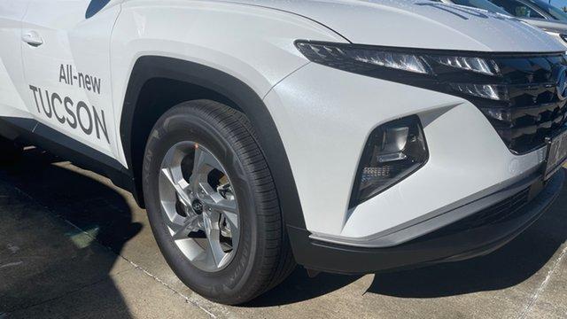 Demo Hyundai Tucson NX4.V1 MY22 2WD Moorooka, 2021 Hyundai Tucson NX4.V1 MY22 2WD White Cream 6 Speed Automatic Wagon