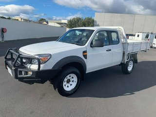 2009 Ford Ranger PK XL White 5 Speed Manual Cab Chassis