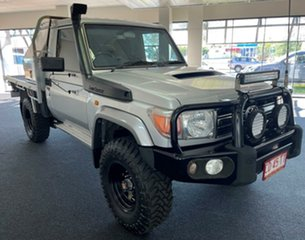 2007 Toyota Landcruiser VDJ79R GXL Silver 5 Speed Manual Cab Chassis.