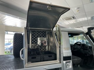2007 Toyota Landcruiser VDJ79R GXL Silver 5 Speed Manual Cab Chassis