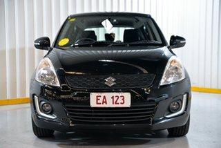 2014 Suzuki Swift FZ MY14 GL Navigator Black 5 Speed Manual Hatchback
