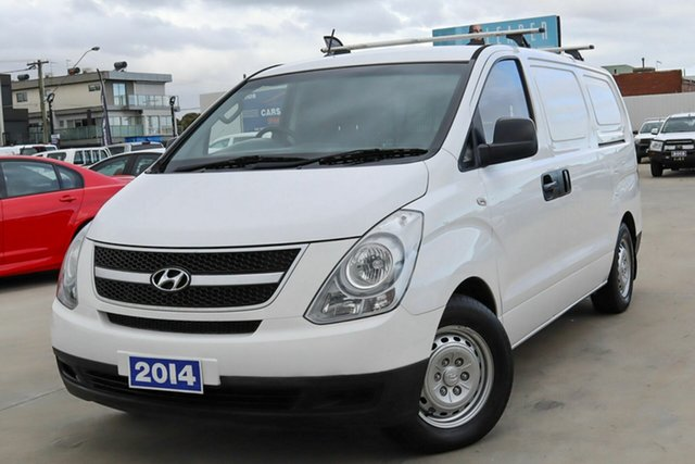Used Hyundai iLOAD TQ2-V MY14 Coburg North, 2014 Hyundai iLOAD TQ2-V MY14 White 6 Speed Manual Van