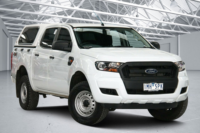 Used Ford Ranger PX MkII MY17 Update XL 2.2 (4x4) Altona North, 2018 Ford Ranger PX MkII MY17 Update XL 2.2 (4x4) White 6 Speed Automatic Crew Cab Utility