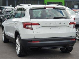 2019 Skoda Karoq NU MY20 110TSI DSG FWD White 7 Speed Sports Automatic Dual Clutch Wagon