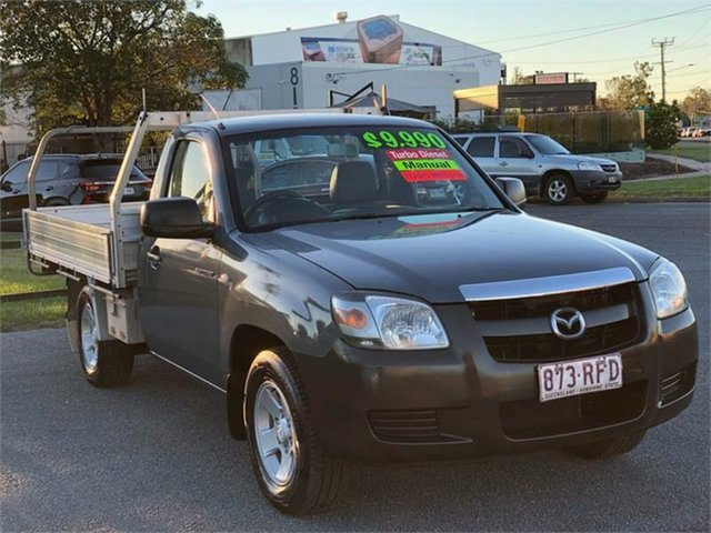 Used Mazda BT-50 UNY0W3 DX Archerfield, 2007 Mazda BT-50 UNY0W3 DX Grey 5 Speed Manual Cab Chassis