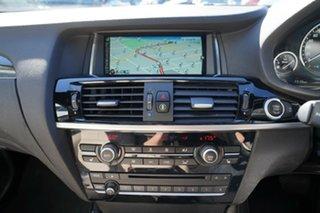 2016 BMW X3 F25 MY16 xDrive20d Carbon Black Metallic 8 Speed Automatic Wagon