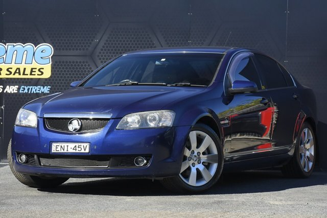 Used Holden Calais VE V Campbelltown, 2007 Holden Calais VE V Blue 6 Speed Sports Automatic Sedan