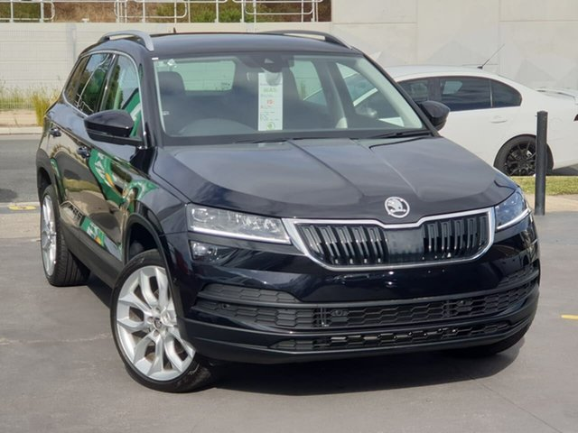 Used Skoda Karoq NU MY20 110TSI DSG FWD Seaford, 2019 Skoda Karoq NU MY20 110TSI DSG FWD Black 7 Speed Sports Automatic Dual Clutch Wagon