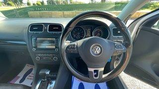 2009 Volkswagen Golf VI 118TSI DSG Comfortline Silver 7 Speed Sports Automatic Dual Clutch Hatchback