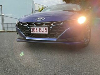 2021 Hyundai i30 CN7.V1 MY21 Active Intense Blue 6 Speed Sports Automatic Sedan.